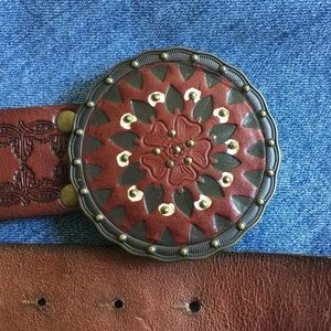 Women's Fossil Bohemian Style Leather Belt
